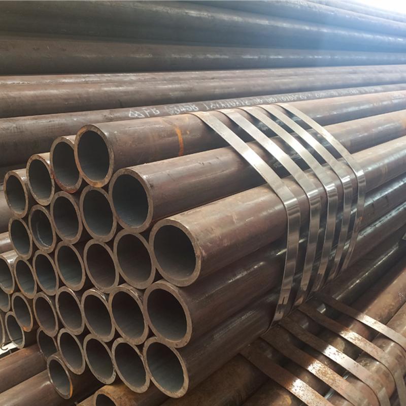 鸿金定做精密轴承钢管 非标Gcr15无缝管 gcr15精轧钢管