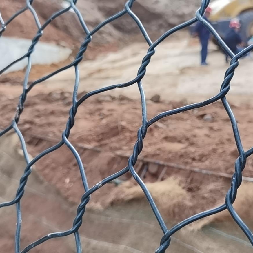 防洪铅丝石笼网 镀锌石笼网箱 斯登诺 现货