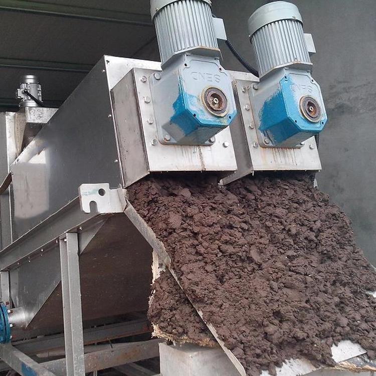 叠螺污泥脱水机 规格齐全 中泰 污泥压滤机 厂家定制 污泥脱水设备