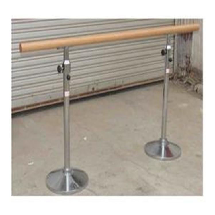 菏泽市双层舞蹈把杆规格尺寸 恒跃体育 舞蹈室舞蹈把杆