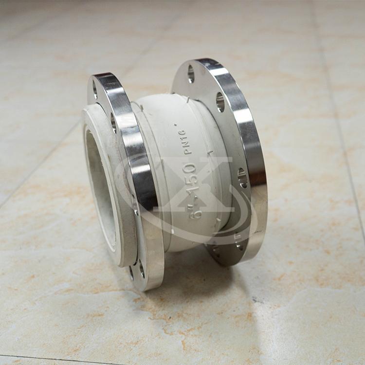 单法兰橡胶接头 不锈钢橡胶接头 耐磨式橡胶接头 橡胶柔性接头 昌星 厂家销售