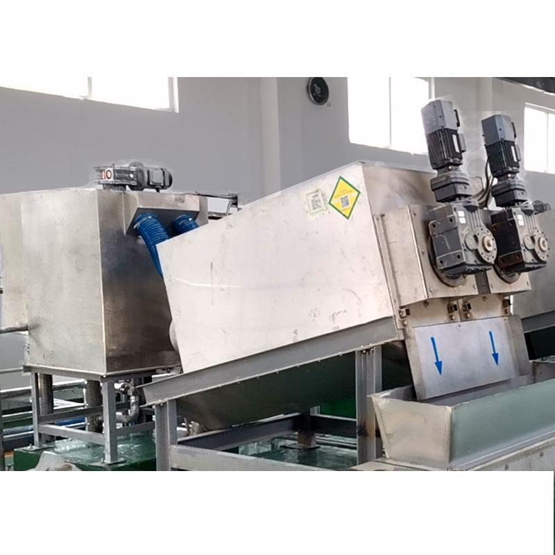 DL-303叠螺式污泥脱水机 养猪粪便废水专用处理设备 叠螺压滤机
