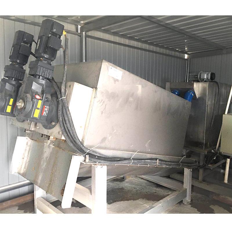 叠螺式污泥脱水机 叠螺脱水机 工业污泥脱水 叠螺机污泥处理设备