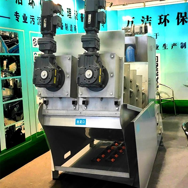 畜牧养殖叠螺脱水机 302型叠螺污泥脱水机 广东生产厂家