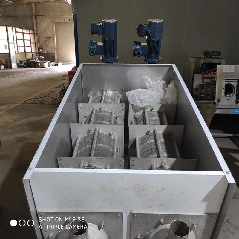叠片污泥脱水机 污水处理污泥脱水机 皮革污泥脱水设备 规格种类齐全