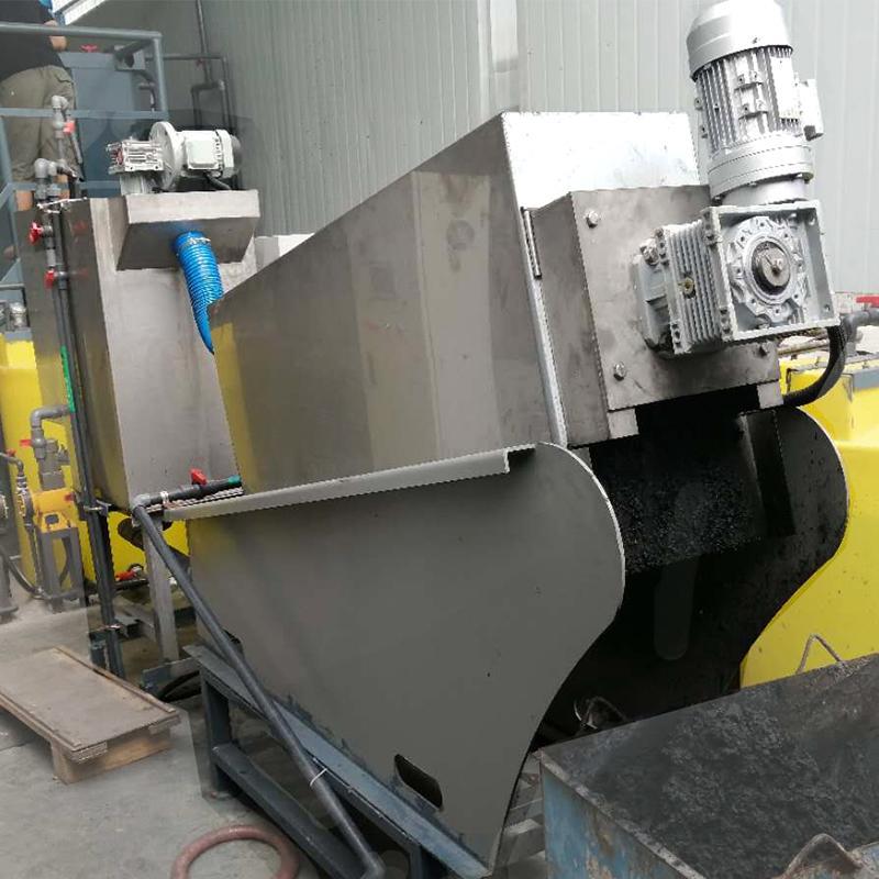 造纸厂废水污泥处理用叠螺机201 叠螺式浓缩脱水一体机 厂家定制生产