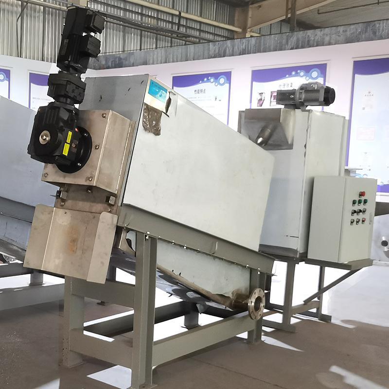 401型机械加工厂叠螺式污泥脱水机 周晓畅叠螺污水处理潍坊厂家直供