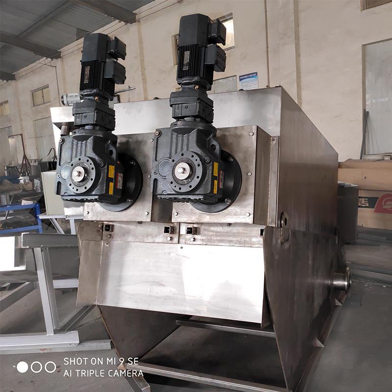 淀粉污泥脱水机价格 叠螺式污泥脱水机山东厂家直供