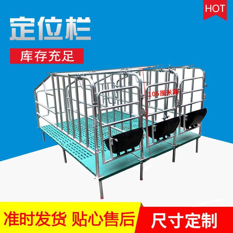 猪用复合板限位栏 加厚2.5国标母猪定位栏 育肥定位栏宏栋畜牧