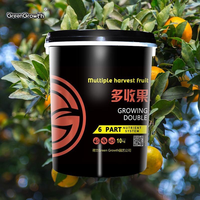 Green Growth进口柑橘类专用水溶肥 氨基酸桶装液体水溶肥 膨果增甜生物有机冲施肥