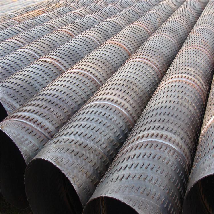 厂家生产 井点降水管325滤水管 桥式滤水管 圆孔降水管铁水管