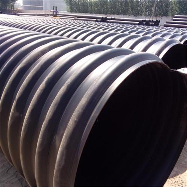 HDPE钢带管 宏塑 昆明HDPE钢带管