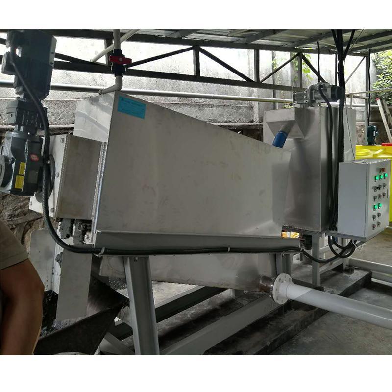 叠螺压泥机 制药厂污泥叠螺脱水机401型 叠螺式压泥机厂家