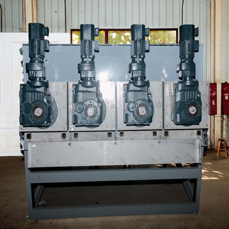 淀粉污泥脱水机404 食品厂污泥处理设备叠螺污泥脱水机 山东生产厂家