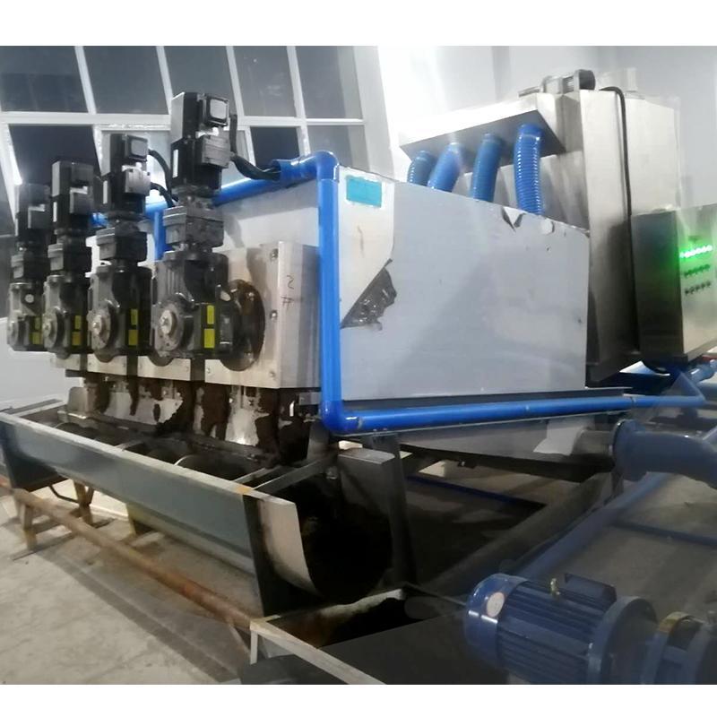 叠螺压滤机 304型叠螺污泥脱水机 叠螺污泥压滤浓缩机