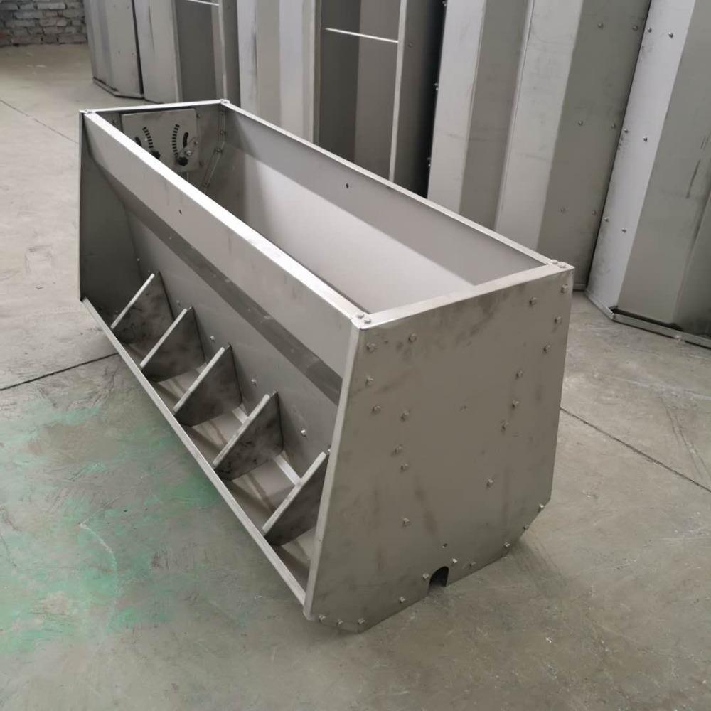 宏栋畜牧-1800mm 1500mm 900mm 不锈钢食槽 母猪食槽