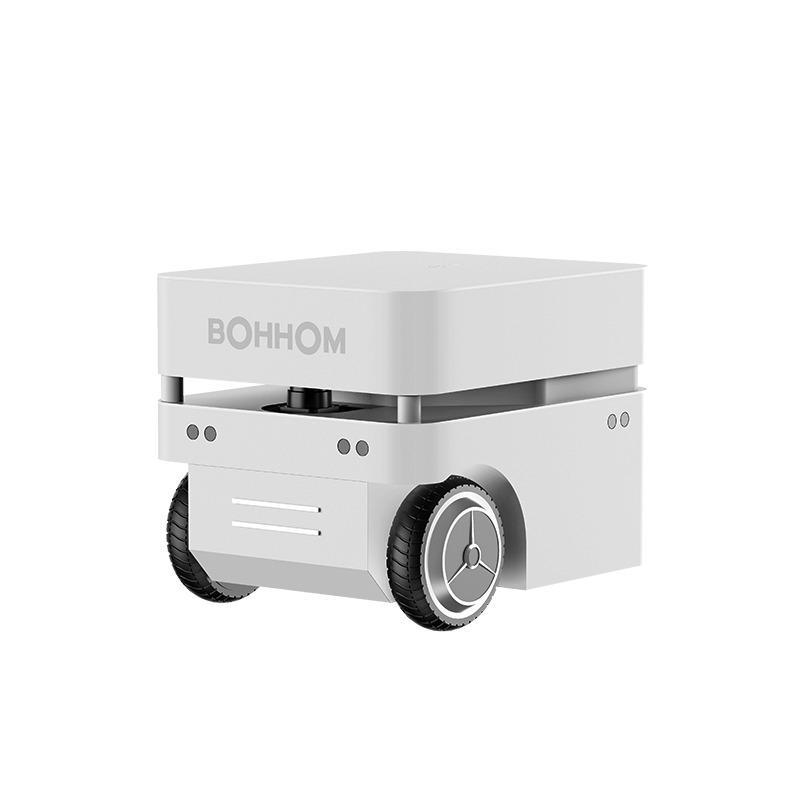 博众机器人公司 无轨导航移动机器人底盘 智能仓储物流 AGV搬运机器人二次开发 激光雷达