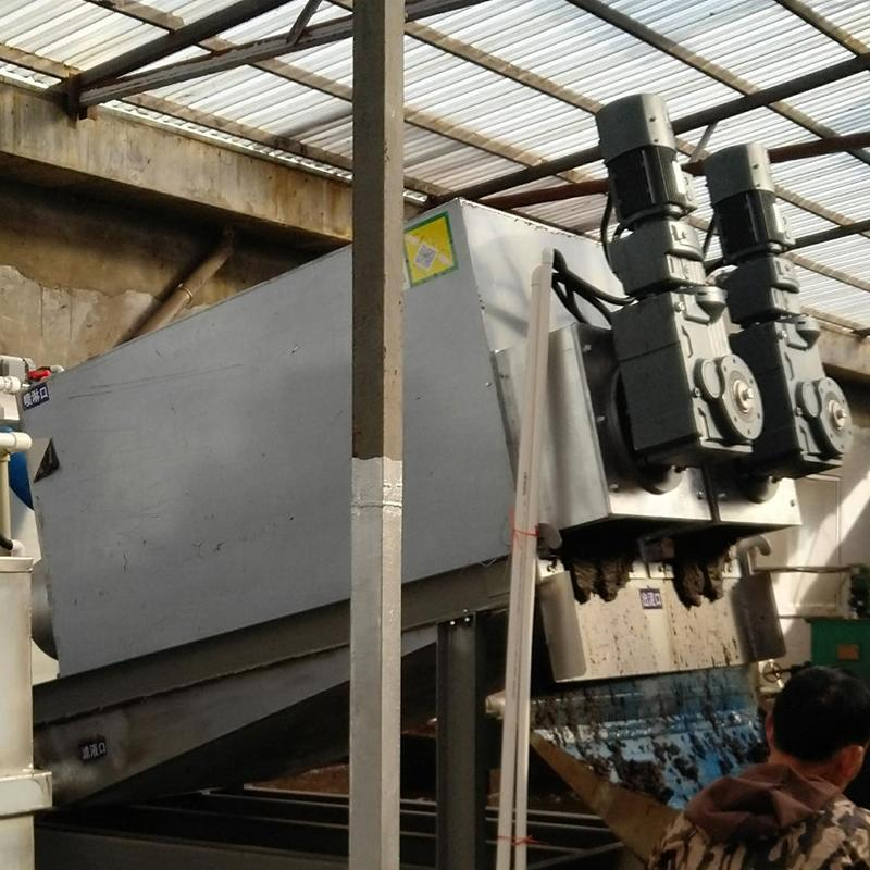 叠螺脱水机402 糯米加工厂叠螺脱水机 叠螺压滤机厂家批发