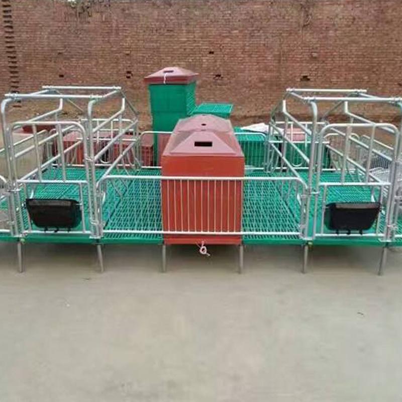 宏栋畜牧-2.2m*3.6*0.9m产地制作 两用母猪产床 单体产床 保育两用产床