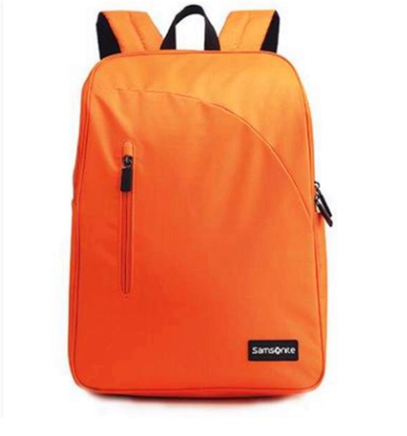 新秀丽织物双肩包笔记本电脑背包员工福利礼品 青年双肩背包