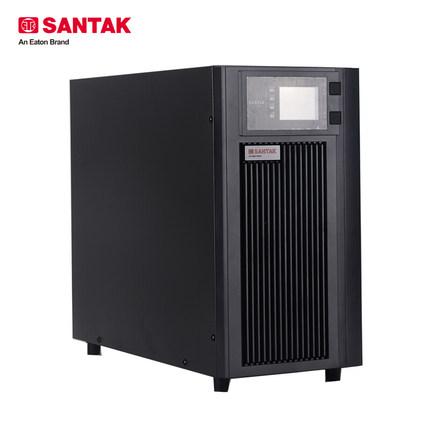 深圳山特C6KS 6KVA/5400W 192V外置电池 长延时在线式UPS不间断电源