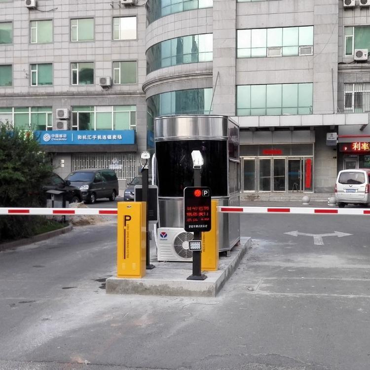 华夏源龙 北京停车场道闸 小区门口自动升降杆 栅栏道闸 厂家直销