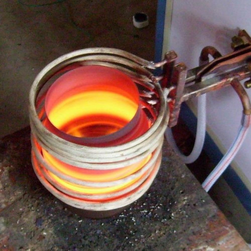 上海铄兴感应加热焊机硬质合金锯齿焊接 金刚石工具钎焊,如磨盘,修边轮复合锅底钎焊