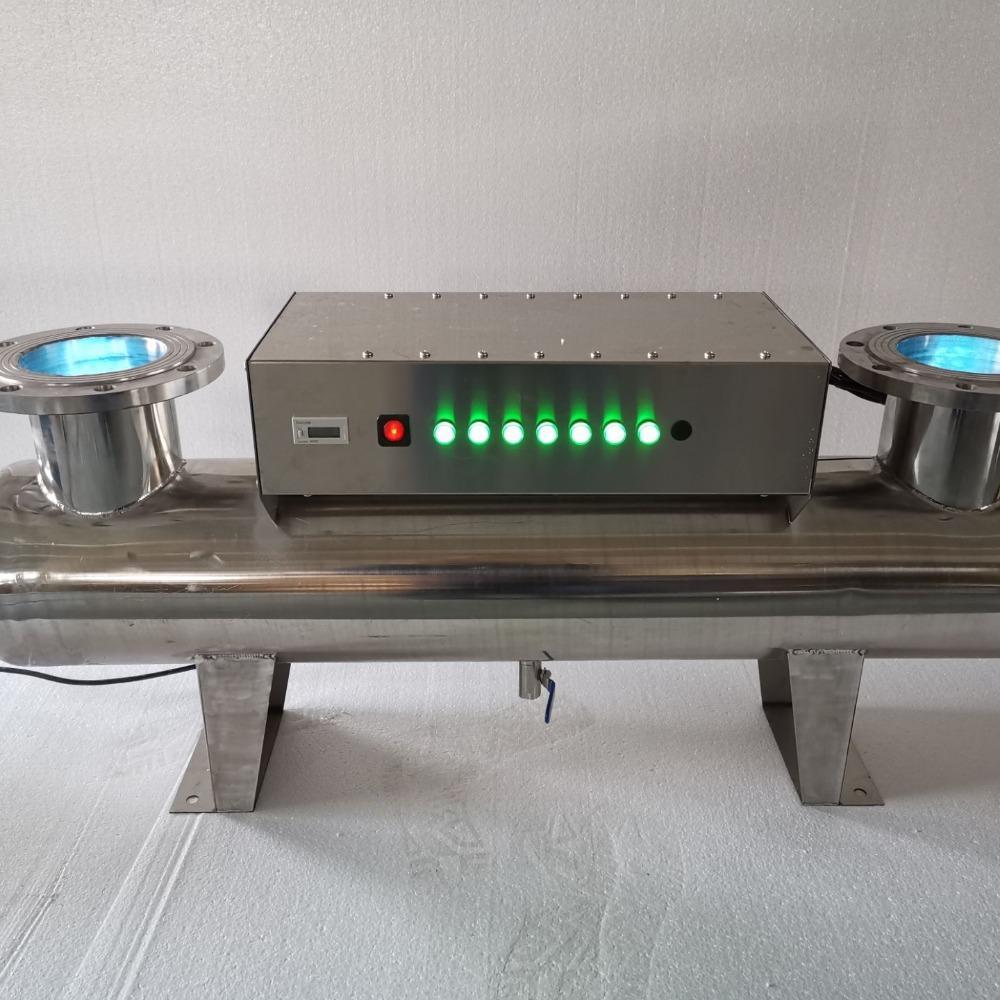 紫外线消毒器 过流式管道式紫外线消毒器 睿汐