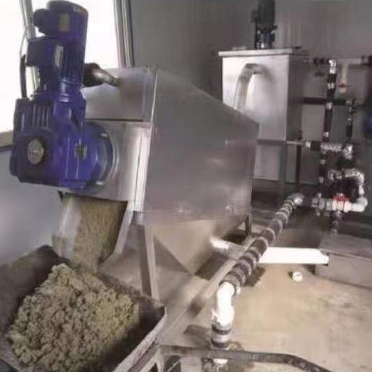 供应叠螺式污泥脱水机DL303叠螺机污泥脱水机品质