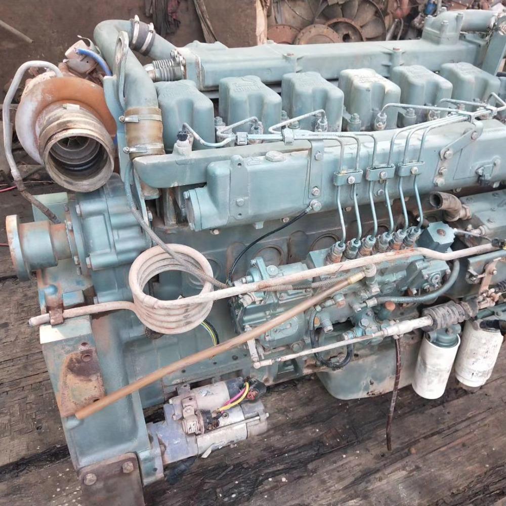 二手重汽搅拌发动机 336 375马力