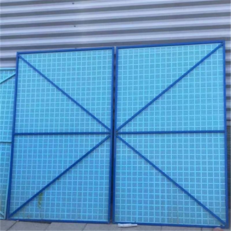 金屬爬架網 建筑施工安全防護網 噴塑爬架網亞奇定制