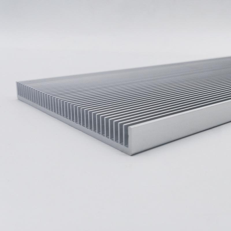 刚柔工业铝材开模定制 冰箱电子散热器 风冷散热器挤压加工