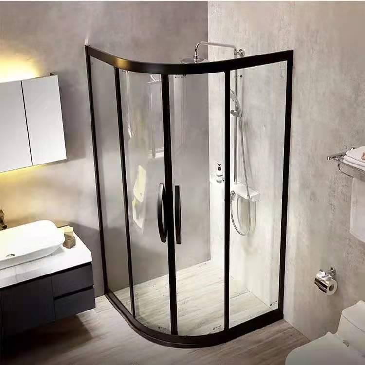 河北淋浴房定制 家装淋浴房图片 简易淋浴房批发价格 铭轩sus304不锈钢淋浴房厂家