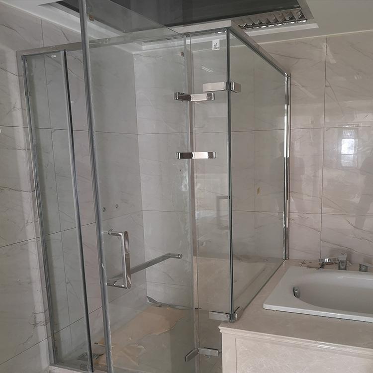 美金玻璃 成都简易淋浴房隔断 四川淋浴房玻璃隔断的价格 选材上乘_设计独特_超值低价