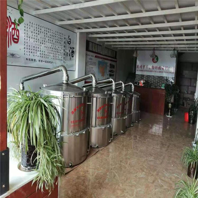 家庭酿酒设备小型酿酒设备 不锈钢酿酒设备长期供应