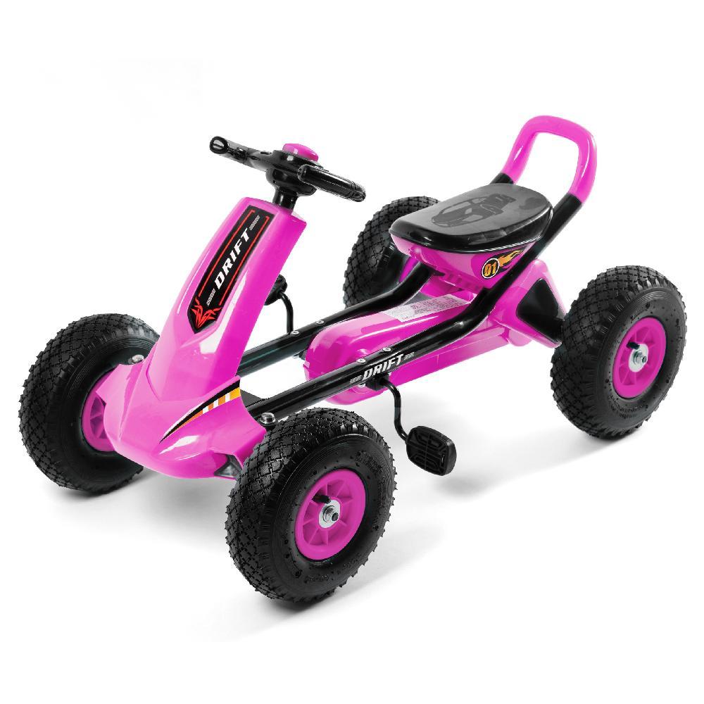 宝利美儿童四轮脚踏卡丁车 男女宝宝玩具汽车 幼儿运动健身自行车