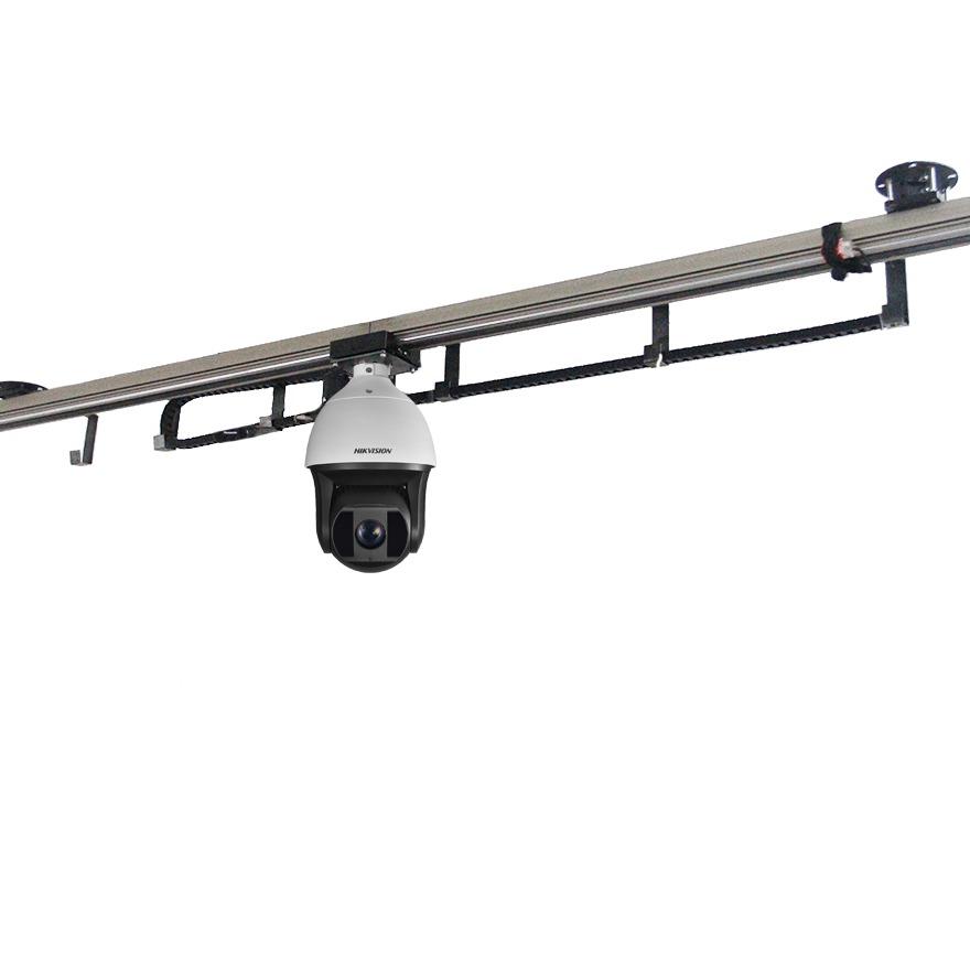 filmptz猪舍巡检轨道机器人 养殖场养猪厂巡检巡栏轨道智能移动摄像头视频监控安防数据采集