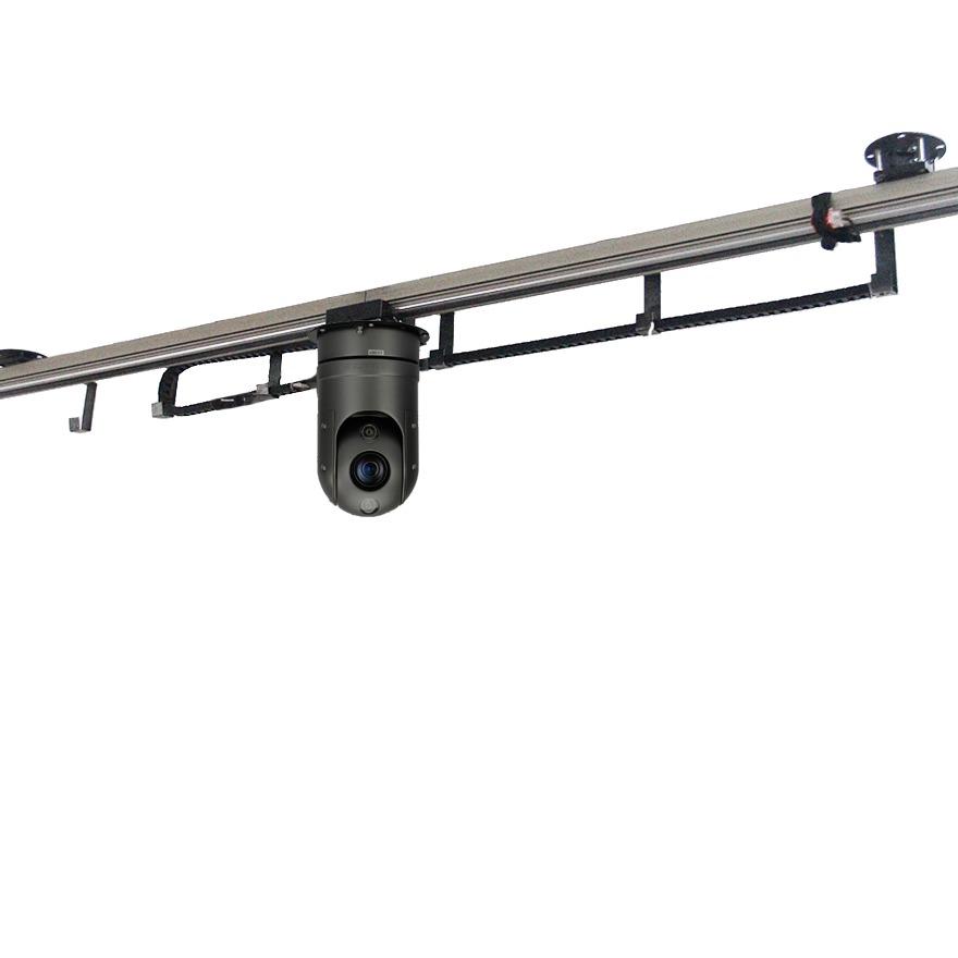 filmptz智能巡检轨道机器人 移动摄像头视频监控安防电力养猪大棚猪舍巡检空中吊装滑行升降移动摄像