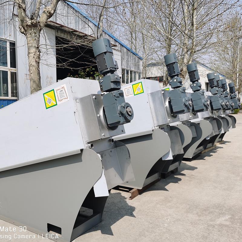 污泥脱水叠螺机 节能叠螺压滤机 叠螺机厂家价格