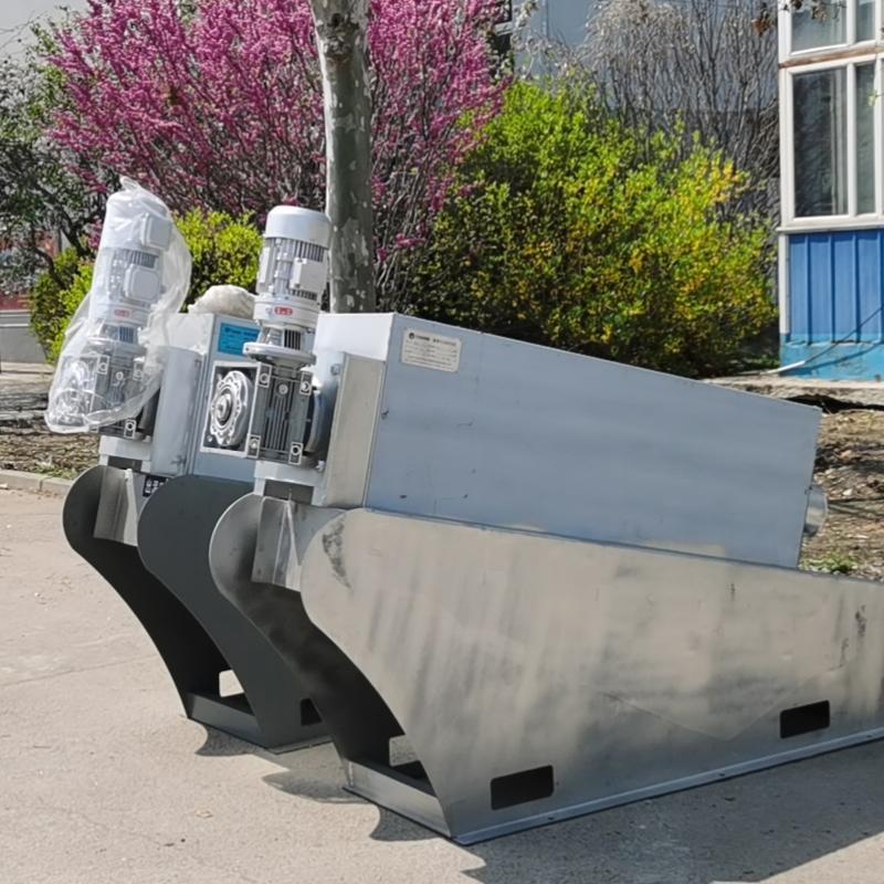 不锈钢叠螺式污泥脱水机 叠螺脱水机132 工业污泥脱水叠螺机定制