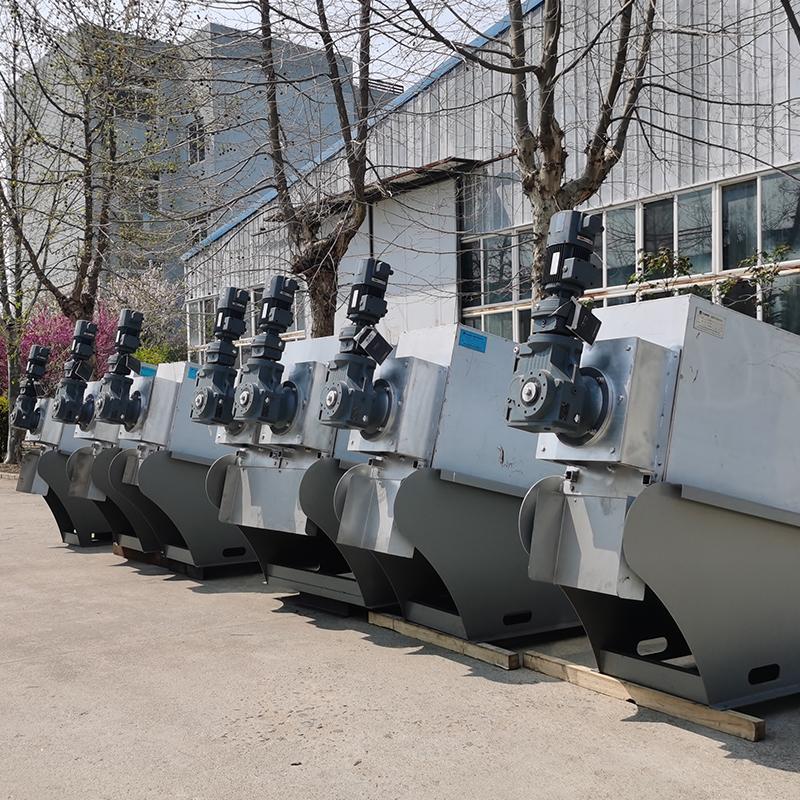 404型叠螺污泥脱水机 市政污水厂叠螺机 叠螺脱水机一体机污水处理设备