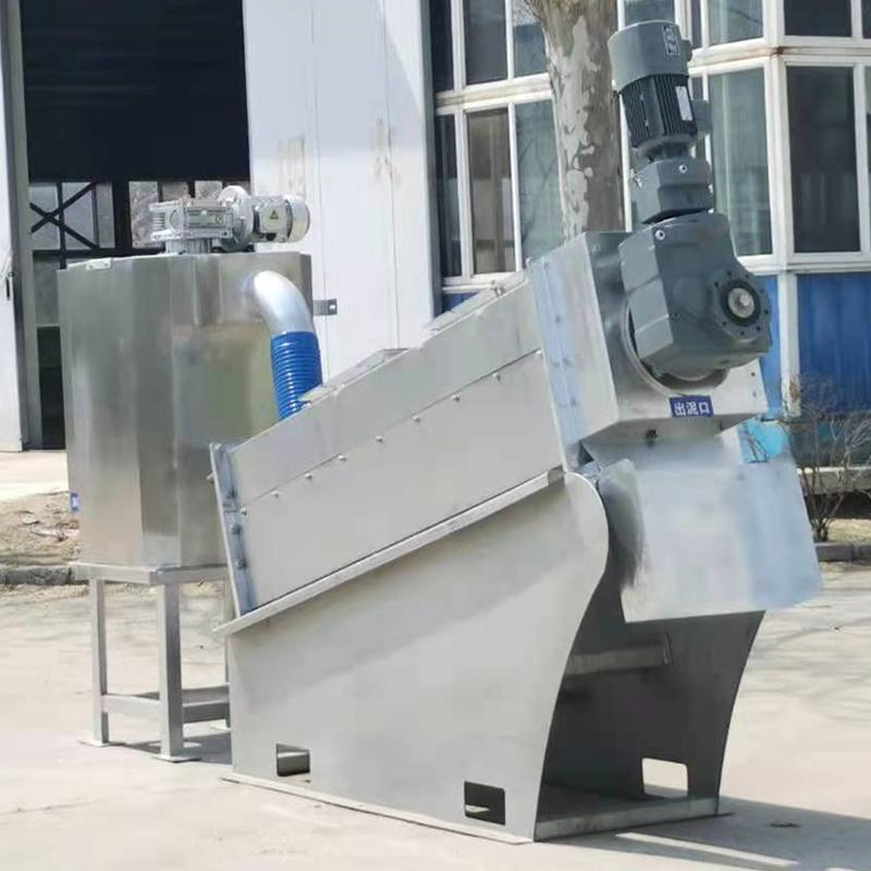 淀粉污泥脱水机价格 化工污泥脱水设备生产厂家 山东叠螺机