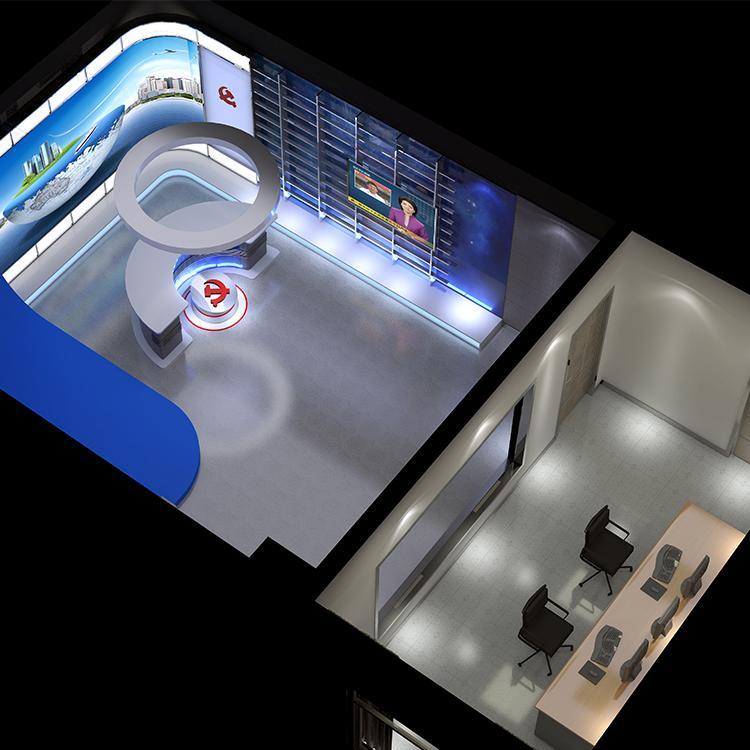演播室工程厂家 坤克 搭建虚拟演播室工程 欢迎电联