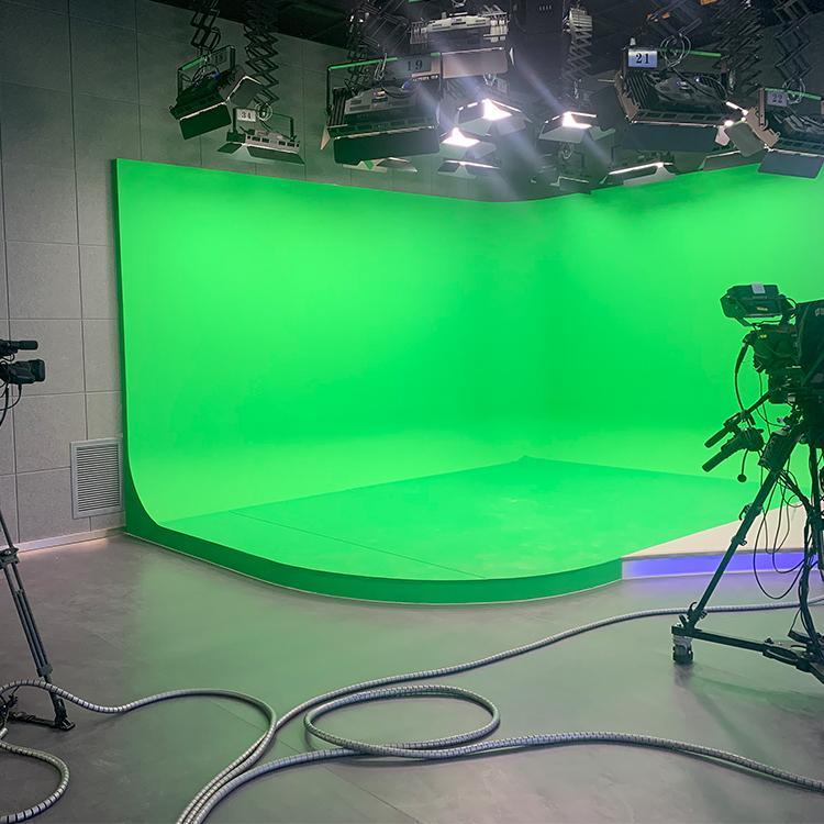 虚拟演播室工程 全景演播室价格 河南演播室工程 坤克