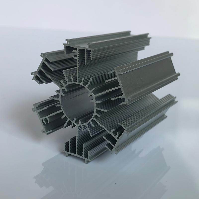 喷砂处理电子散热器 新思特电镀工业铝材 散热器开模厂家