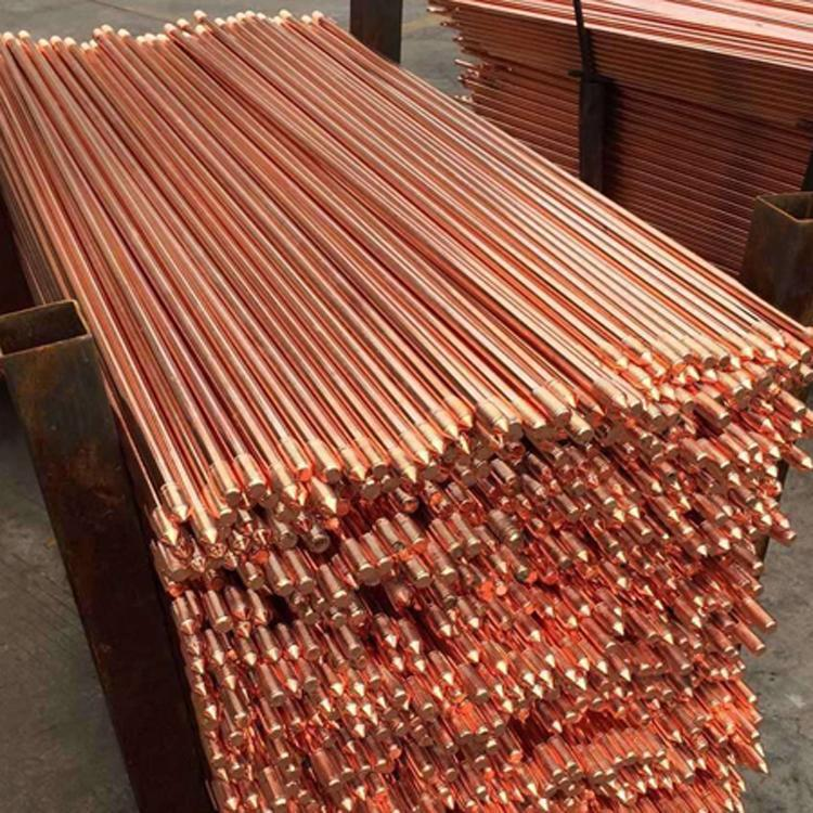 托达定做镀铜接地棒14.2-2500-16-2500-镀铜接地极厂家供应