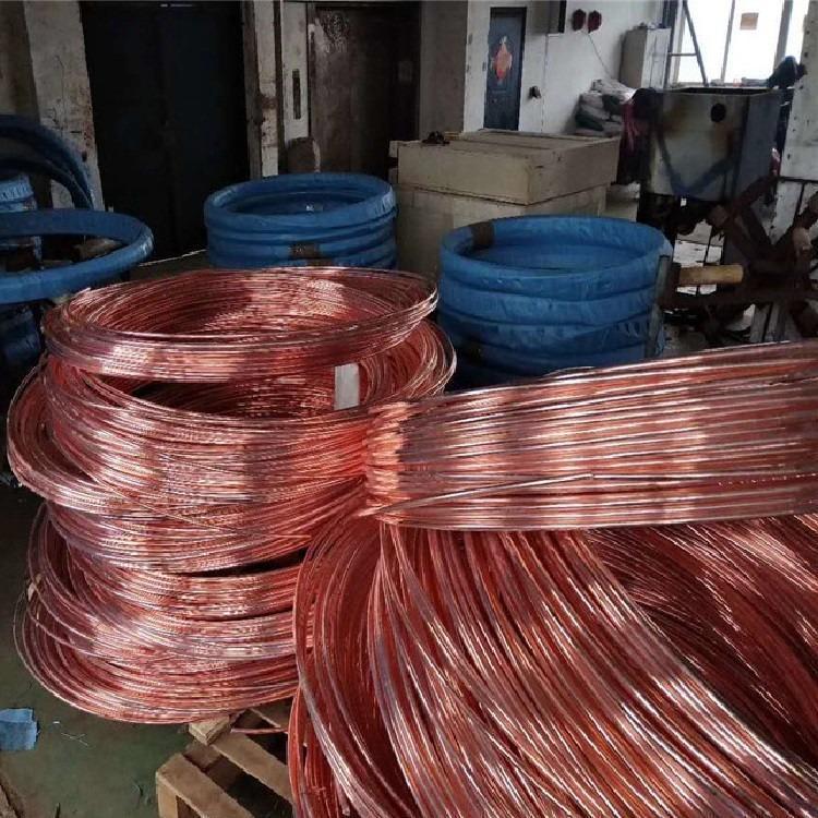 拓达规格齐全水平接地母线接地体 铜覆钢圆线 直径10镀铜圆钢厂家供应
