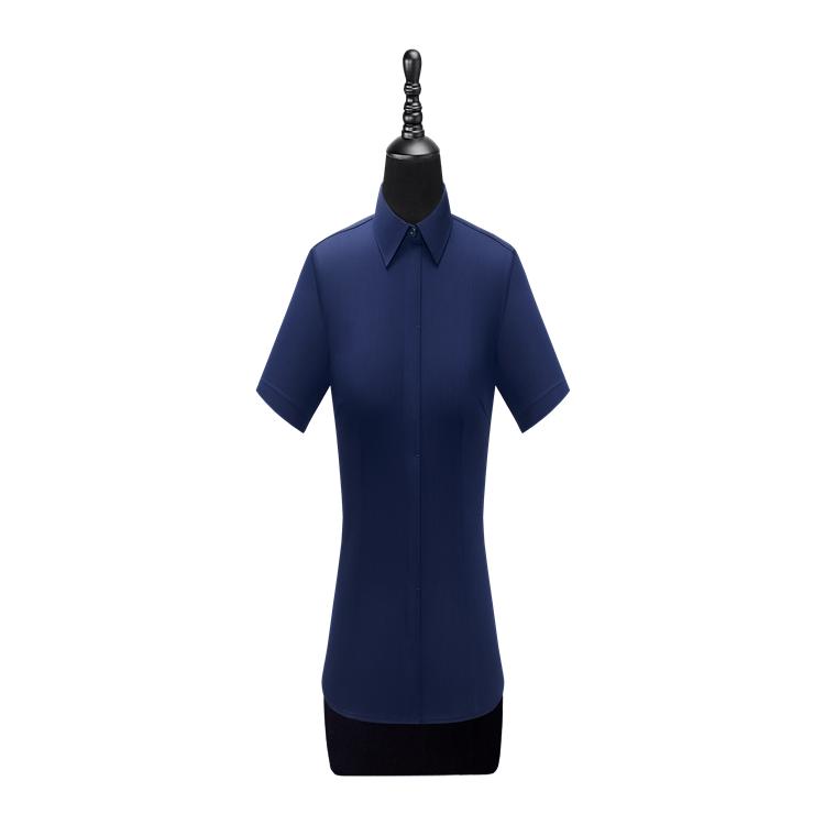 宏图 厂家定制 女长袖衬衫W100205 职业装长袖衬衫