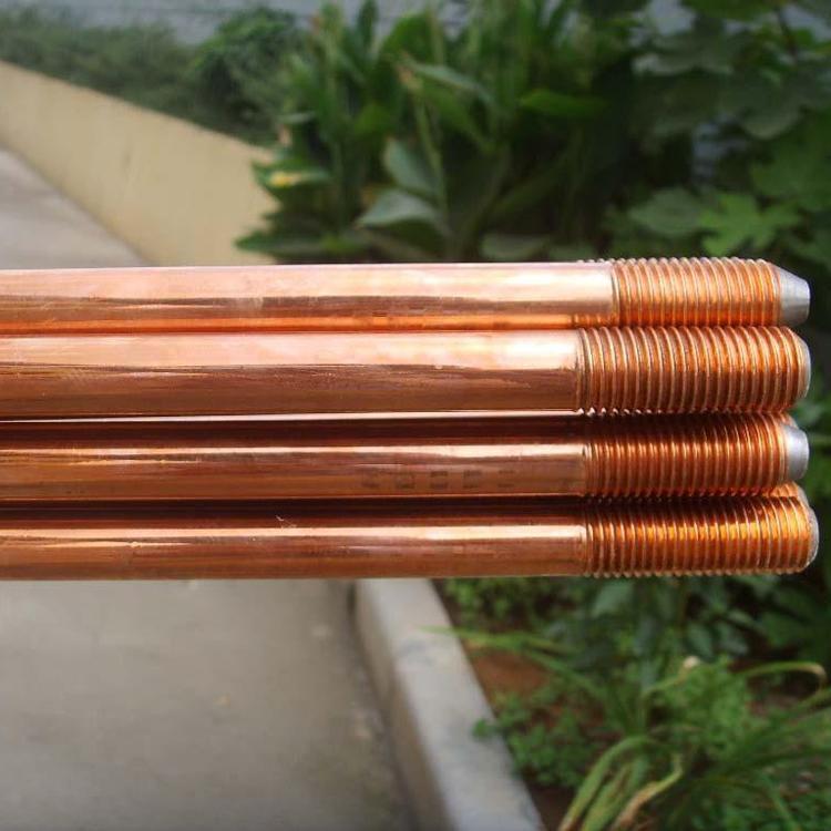托达定制镀铜接地极接地体 铜覆接地棒厂家供应