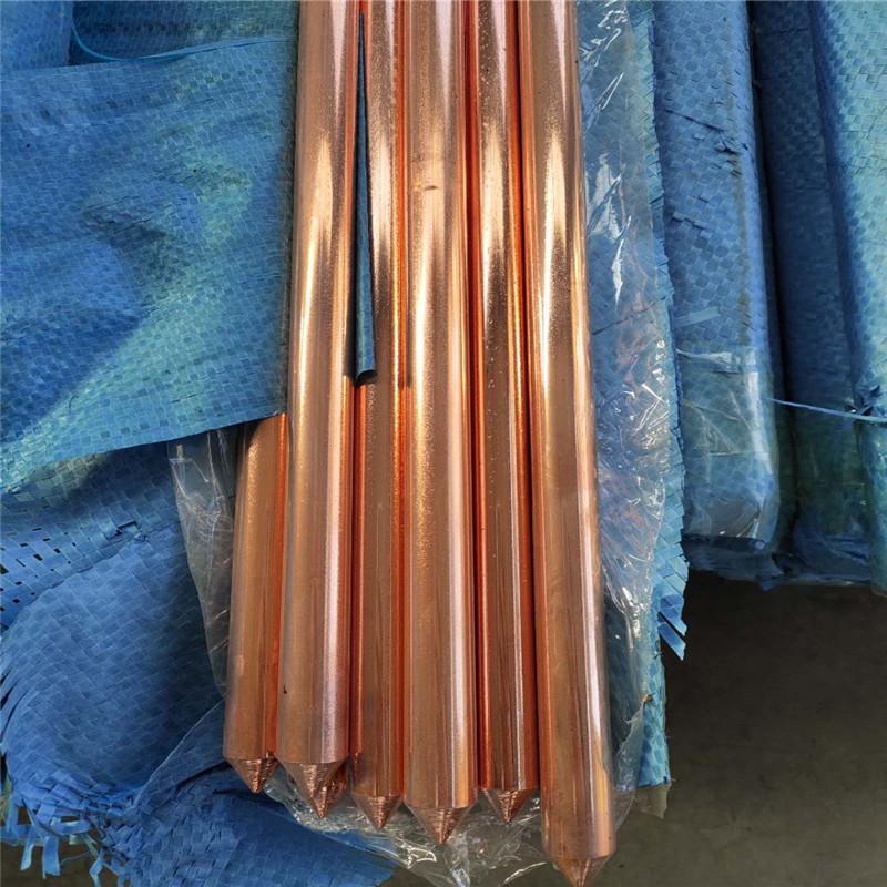托达厂家批发铜包钢接地棒 圆柱形铜包钢接地极厂家供应
